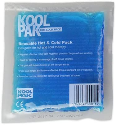Koolpak Reusable Hot and Cold Gel Pack - Small - 13cm x 14cm (5 ...