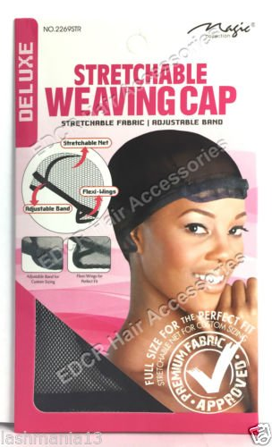 Magic Collection ADJUSTABLE BAND STRETCHABLE WEAVING Wig/CAP DELUXE NEW THE BEST** #2269STR NEW China