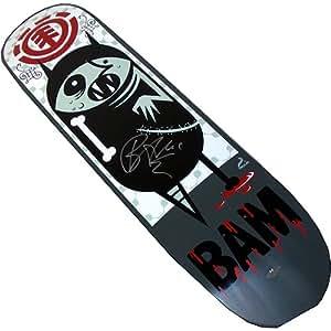 Bam Margera Element/BAM Savage Skateboard Deck