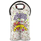 Best Sweet Champagnes - Wine Tote Carrier Bag Happy Birthday Sweets Purse Review