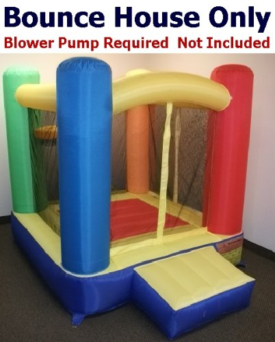 - Bounce House Only - My Bouncer Little Square Castle Bounce 72