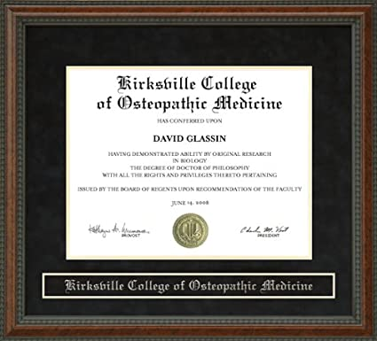 Amazon com - Kirksville College of Osteopathic Medicine (KCOM