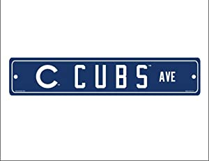 WinCraft MLB Chicago Cubs Street Sign