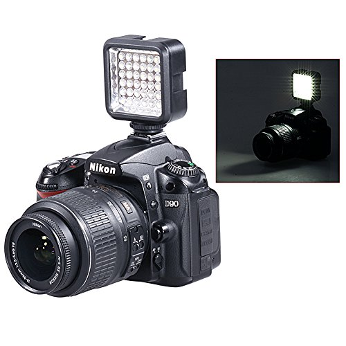 Bestlight¨ Ultra-Bright LED 36 Camera / Video Light with Rechargeable Battery Pack and Charger for Canon, Nikon