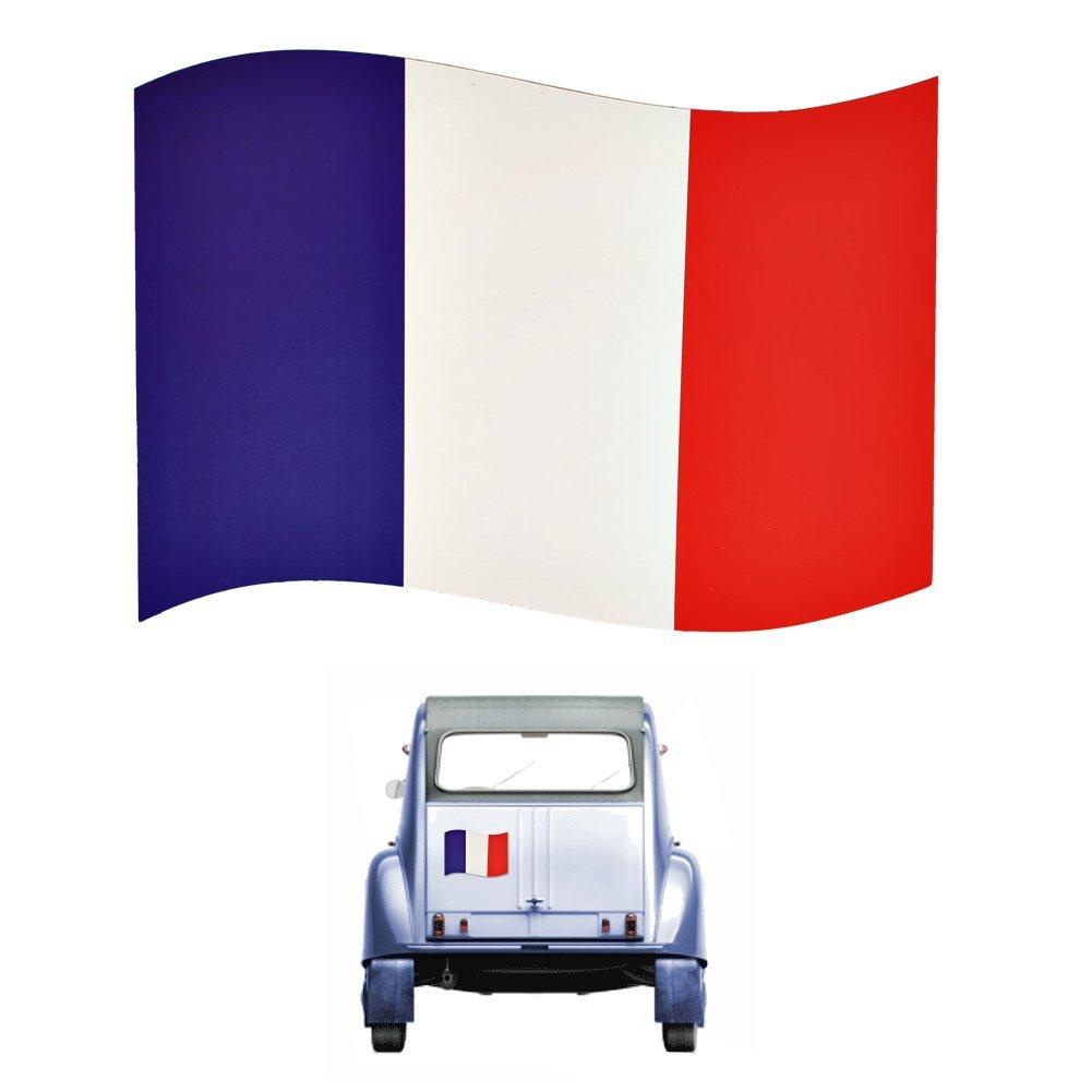 Imán francés de la bandera - FRANCIA imán para su coche, nevera ...