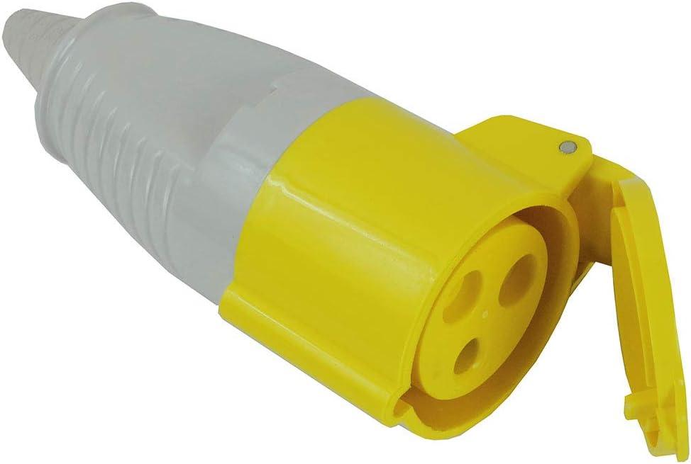 Faithfull 3 Way 110v Socket Splitter 110v