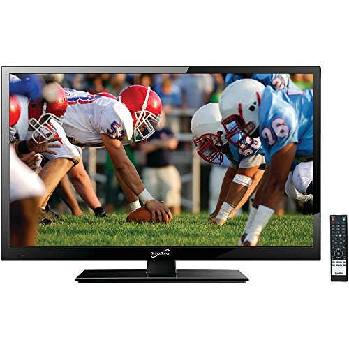 - Supersonic SC-1911 19-Inch 1080p LED Widescreen HDTV with HDMI Input (AC/DC Compatible)