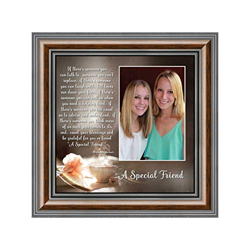 A Special Friend, Birthday Gift Best Friend, Personalized Picture Frame Your Forever Best Friend, 10x10 6375W