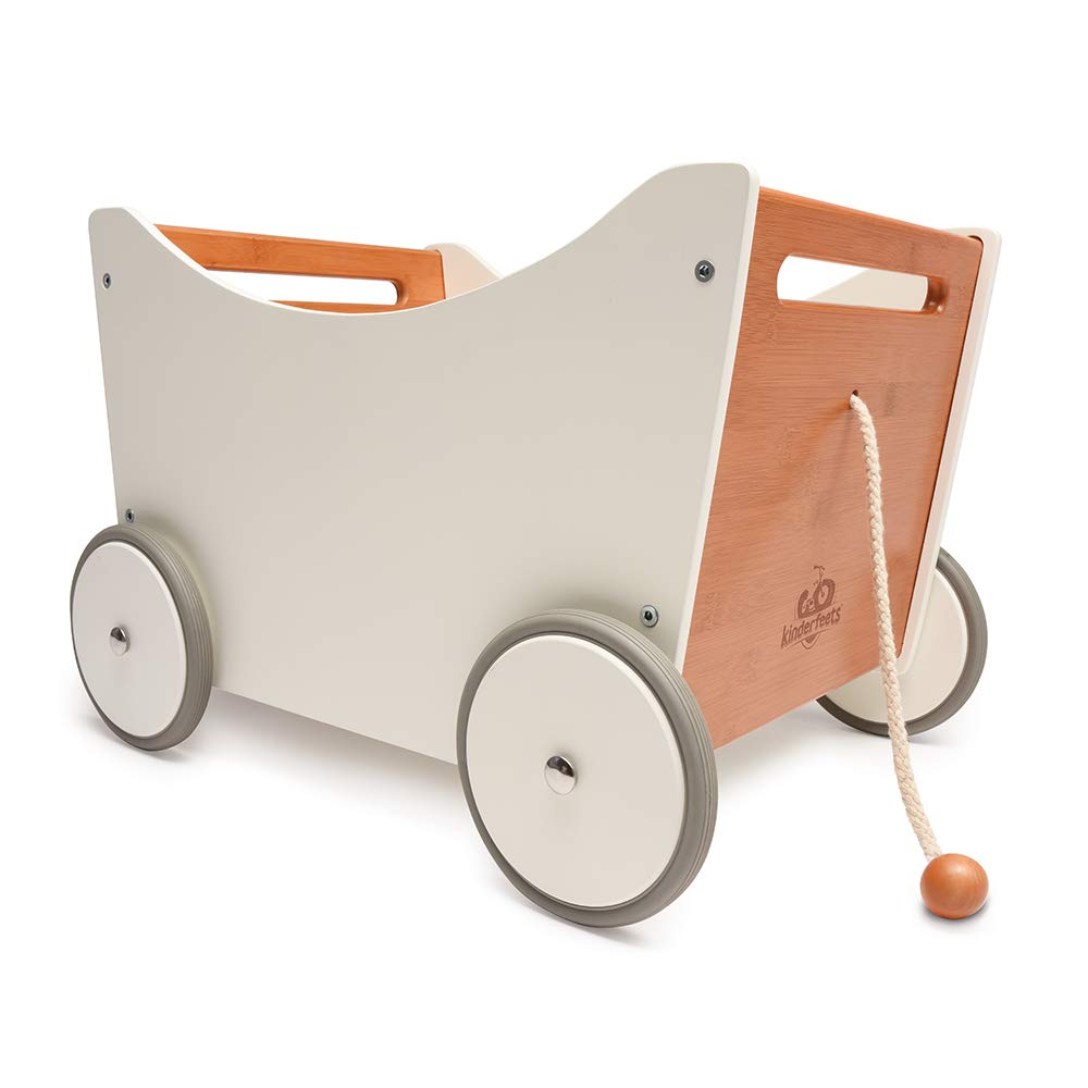 Kinderfeets Toy Box 2 in 1 Walker, Toy Storage and Walker by Kinderfeets (Image #1)