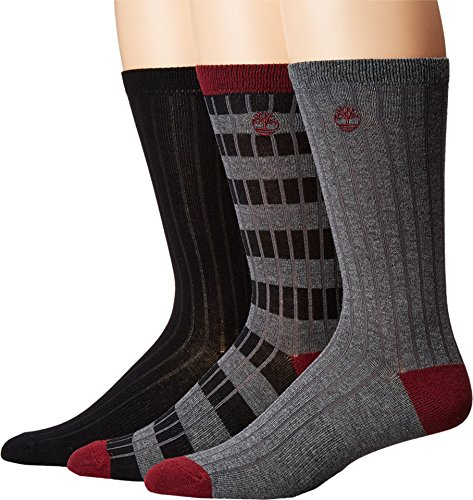 Timberland Stripe Solid 3 Pack Socks