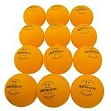 Newgy Robo-Balls - Ping-Pong Balls (1 Dozen), Orange