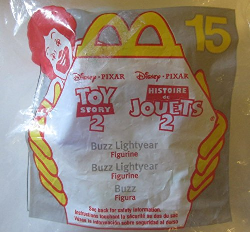 McDonalds Happy Meal Disney/Pixar Toy Story 2 Buzz Lightyear Figure #15