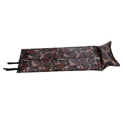 Extérieur Coussin Automatique Pneumatique Des Tentes Des Matelas Des Nattes De Camping Un épaississement élargissement Plié Pique-nique Mat De Camouflage,Camouflage-OneSize