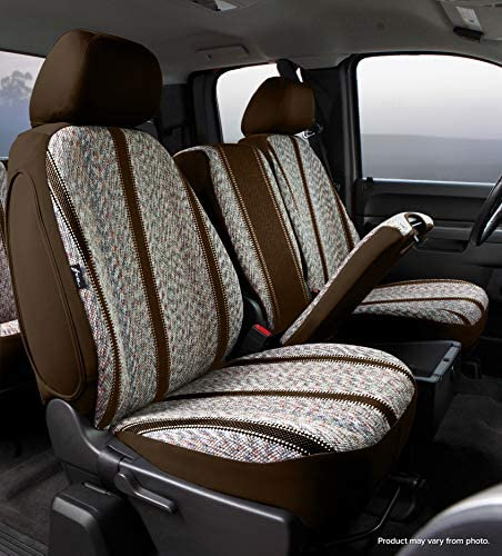Saddle Blanket, Brown Fia TR48-9 BROWN Custom Fit Front Seat Cover Split Seat 40//20//40