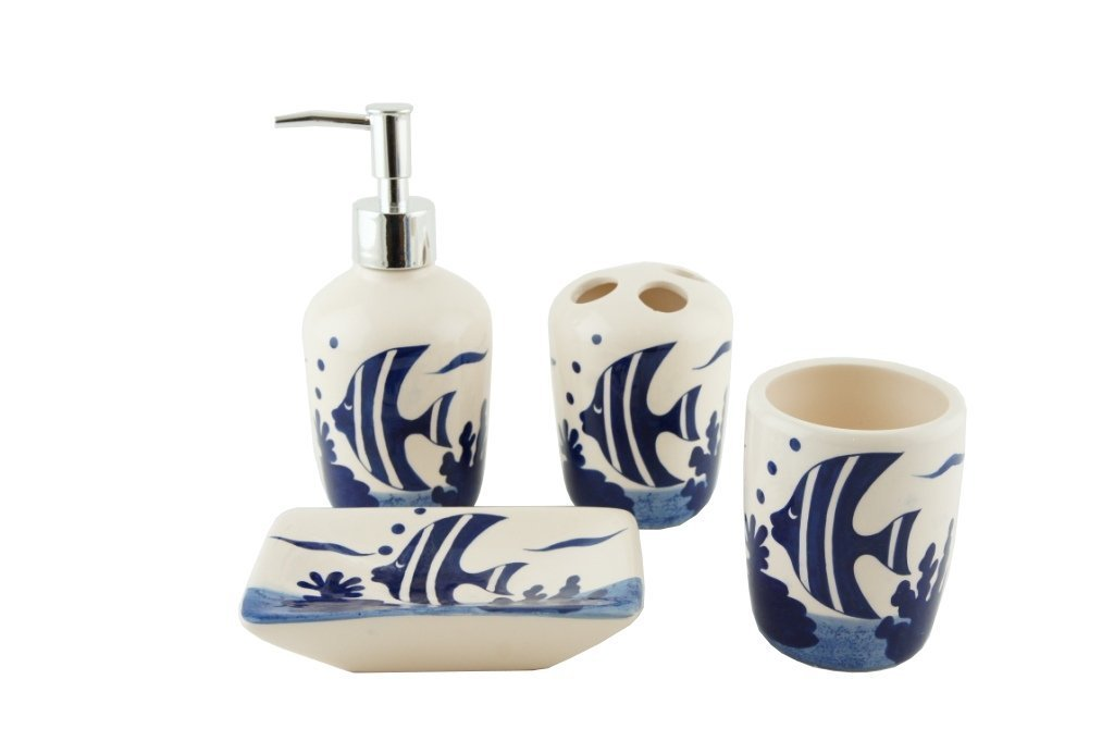 Ceramic Bathroom Set Pocket Money Plus