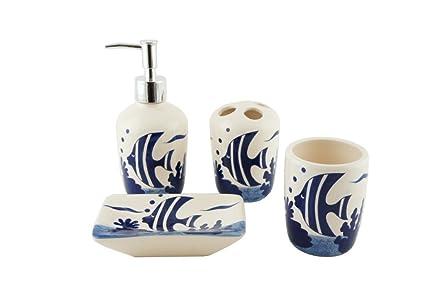 Set da bagno in ceramica amazon casa e cucina