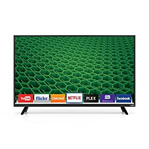 "VIZIO D40-D1 D-Series 40"" Class Full Array LED Smart TV (Black)"