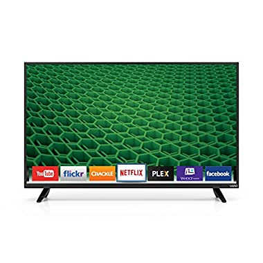 VIZIO D40-D1 D-Series 40  Class Full Array LED Smart TV (Black)
