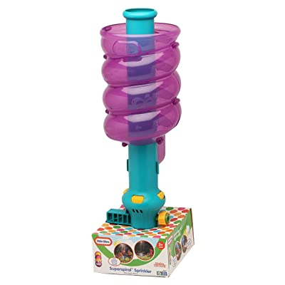 Little Tikes Super Spiral Sprinkler(Colors May Vary): Toys & Games
