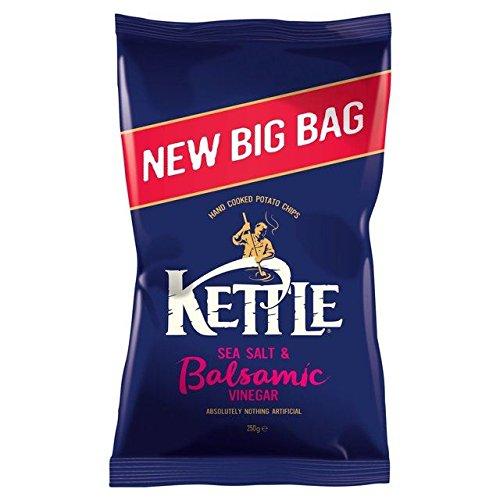 Kettle Chips Big Bag Sea Salt & Balsamic Vinegar 250g