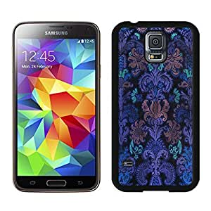 BINGO best quality Colorful Damask 1 Samsung Galaxy S5 Case Black Cover by supermalls