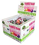 Tree Hugger Bubble Gum Lollipops Display Box, Great For Big Fun, 48 Count