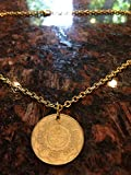 Philippines 5 piso coin necklace