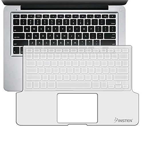 Everydaysource-Compatible-With-Macbook-Pro-133-Clear-Silicone-Keyboard-Cover-Matte-LCD-Screen-Protector