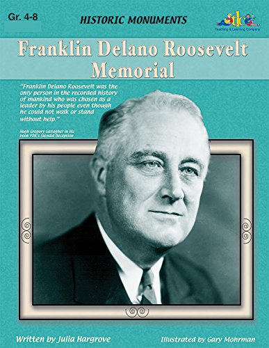 Roosevelt Franklin Memorial Delano - Franklin Delano Roosevelt Memorial: Historic Monuments Series