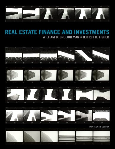 Real Estate Finance and Investments by McGraw-Hill Irwin