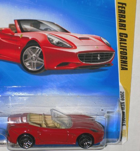 (Hot Wheels 2009 Ferrari California New Models 38/42 1:64 Scale Die Cast Collectible Car)