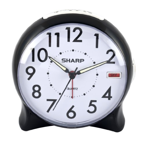 Sharp SPC127A Quartz Analog Alarm