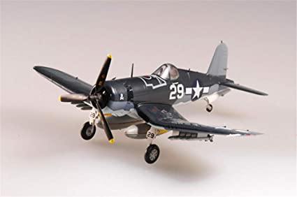Easy Model US Grumman F4U Corsair Aircraft Fighter VMF-232 1//72 Non diecast Plane