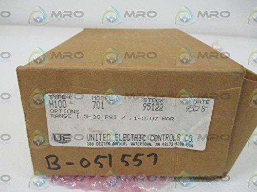 (UNITED ELECTRIC H100-701 PRESSURE SWITCH *NEW IN A)