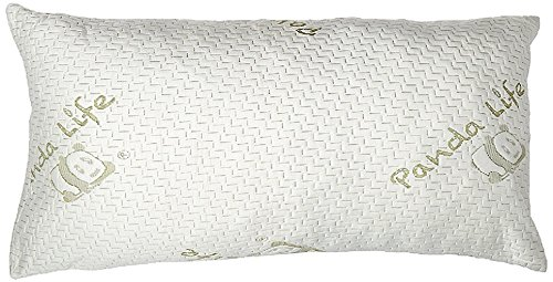 Panda Life Shredded Memory Foam Pillow-Queen, 2 Pack