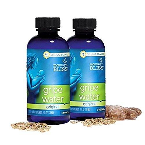 Mommys Bliss Gripe Water, Original PoHfSL, 8 Fluid Ounce, 4 Bottles