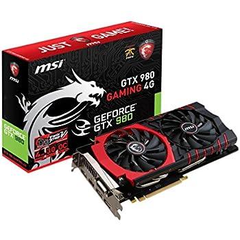 Amazon com: EVGA GeForce GTX 980 4GB SC GAMING, Silent