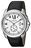 Cartier Men's W7100037 De Cartier Leather Strap Watch