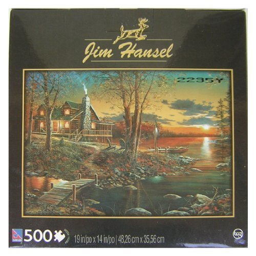 Comforts of Home 500 Piece Jigsaw Puzzle By Artist Jim Hansel by Sure-Lox