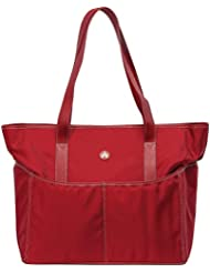 Sumo Large Tote - Red with White Stitch