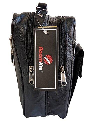Para De Rl504kl Roamlite 8 Secciones Vacaciones General Bandolera Pasaportes Mensajero Documentos Organizador Cuero Bolso Con Viaje Y Uso Bolsillos Mujer Ideal Hombre w1AnqxX16