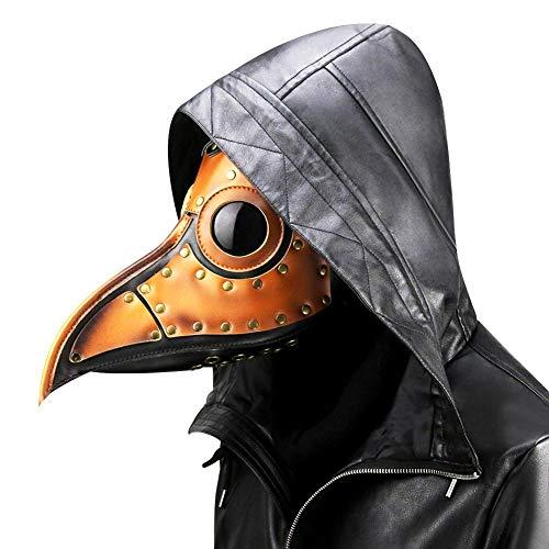 Culturemart Halloween Mask Metal Frame Steam Punk Plague