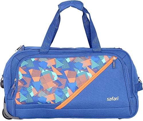 Safari 55 RDFL BLUE Duffel Strolley Bag