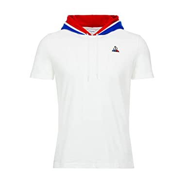 Le Coq Sportif T-Shirt Tricolore Hoody  Amazon.fr  Vêtements et accessoires 300b1732ec62