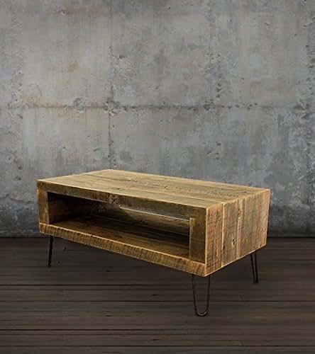 Reclaimed Wood Coffee Table Amazon: Amazon.com: Reclaimed Wood Coffee Table: Handmade