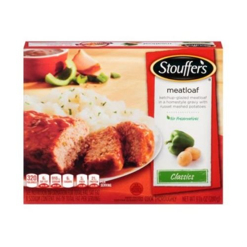 Nestle Stouffers Entree Meatloaf, 9.78 Ounce -- 12 per case.