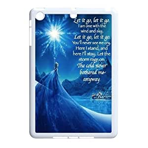 [Tony-Wilson Phone Case] For Ipad Mini Case -IKAI0448462-Frozen Forever,Snow Queen and Olaf