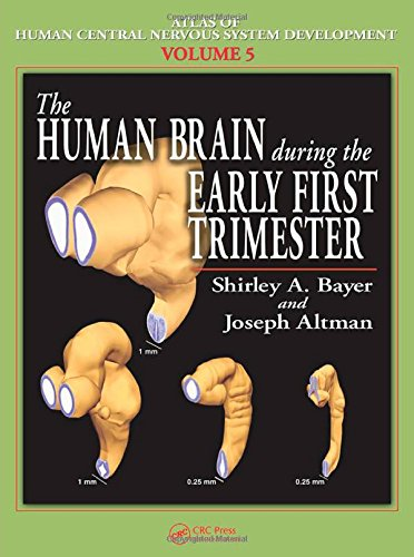 Atlas of Human Central Nervous System Development -5 Volume Set: The Human Brain During the Early First Trimester (Volum