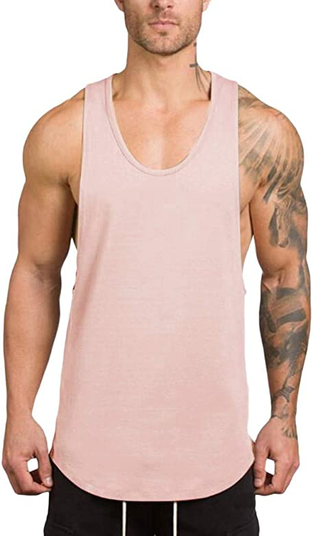 FossenHom - Camisetas de Tirantes Hombre Deportivas - Camiseta Deporte Hombre Gym Fitness: Amazon.es: Ropa y accesorios