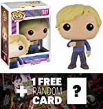 Charlie Bucket: Funko POP! x Willy Wonka & The Chocolate Factory Vinyl Figure + 1 FREE Classic Movie Trading Card Bundle (102476)